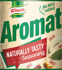 Aromat Naturally Tasty is adding more flavour on 947 with R5000 daily!