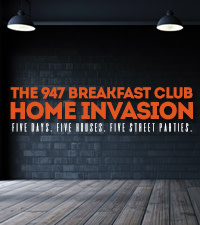 The 947 Breakfast Club Home Invasion