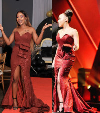 Twice The Love shown for Nickolet when she gets Thando's glamorous dress