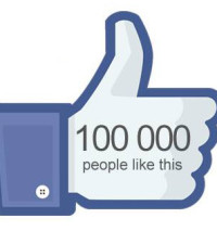 We have reached 100 000 fans on FACEBOOK!