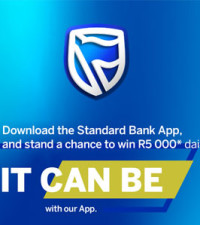 Standard Bank It Can Be R5000 Give-Away