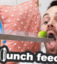[WATCH] The lunch feeder is for those who forget to eat at work