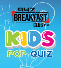Stand a chance to win R500 with Kids Pop Quiz on 947