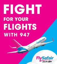 Fight for your flight with 947