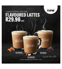 Stand a chance to win R2 500 in the Morning with McCafé from Mc Donald's and 947