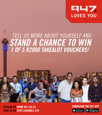 TELL US MORE ABOUT YOURSELF AND STAND TO WIN 1 OF 5 R2000 TAKEALOT VOUCHERS!