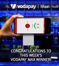 Meet this week's VodaPay Max winner – catering business owner, Athanathi Nyeka