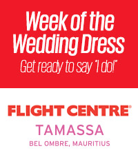 Week of the Wedding Dress with Flight Centre