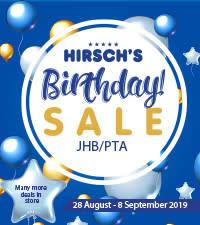 Hirsch's 40th Birthday