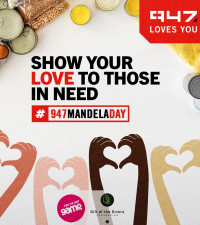 Show your love to those in need with 947 and Game