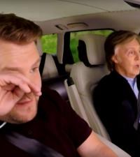 James Corden reduced to tears in latest #CarpoolKaraoke with Paul McCartney