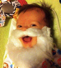 Cutest Christmas Baby