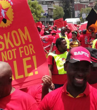 Numsa: Eskom using wage talks as scapegoat to implement load shedding