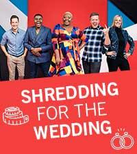 Shredding for the wedding