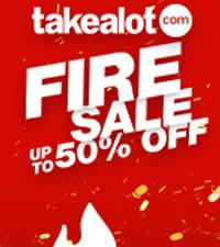 THE TAKEALOT.COM FIRE SALE