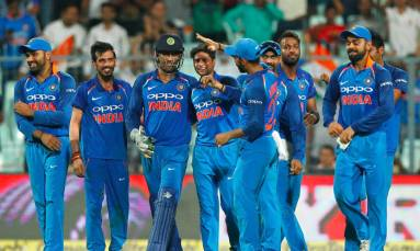 India clinch series with hat-trick of wins against Australia