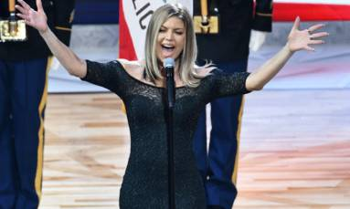 Fergie apologises for anthem performance at NBA All-Star game