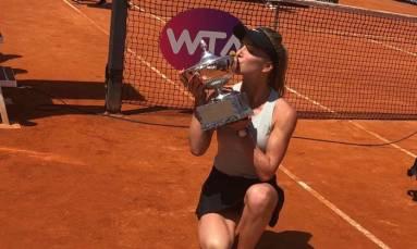 Elina Svitolina dominates Halep to defend Italian Open crown