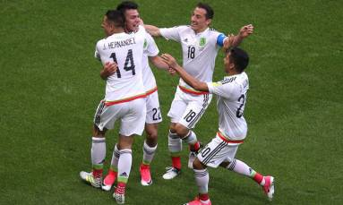 Mexico knock out Confederations Cup hosts Russia
