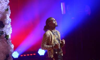 Offset arrested on drugs and weapons charges