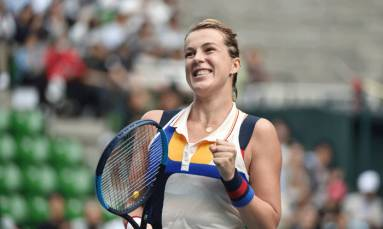 Pavlyuchenkova gets past Kerber, advances to Tokyo final