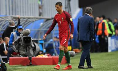 Ronaldo sets Portugal on way to Confederations Cup semis