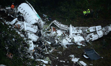 Second suspect in Brazilian soccer team air crash put in jail