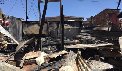 City offers to help family who lost 3 children in shack fire