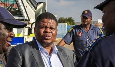 DA calls for an investigation into links between Mahlobo, rhino horn trafficker