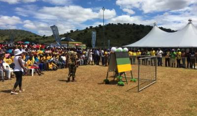 Zuma to address crowd at ANC's anniversary celebration in Limpopo