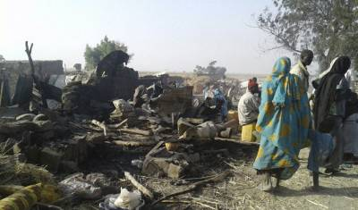 Female suicide bombers using babies during missions in Nigeria