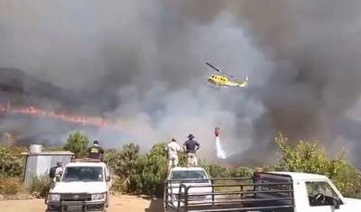 Cause of Cape fires still unknown, blaze rages on in Paarl
