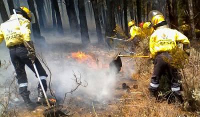 WC fire season: Firefighters monitor hot spots