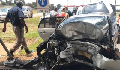 Three die in two separate accidents