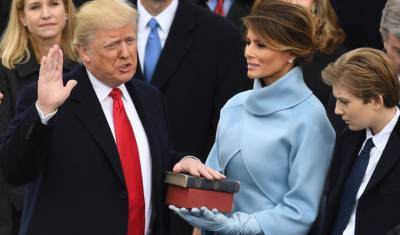 Donald Trump officially 45th president of US
