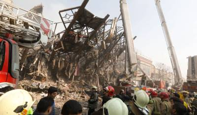 SA govt sends condolences to Iran after Plasco building collapse