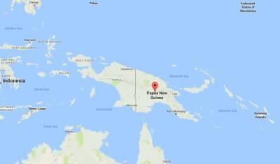 Magnitude 8 quake strikes off Papua New Guinea