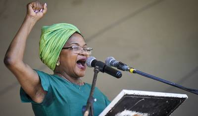 [LISTEN] President Baleka Mbete?