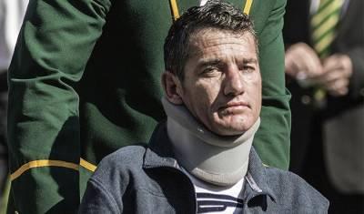 Joost Van der Westhuizen: I'm not on oxygen machine