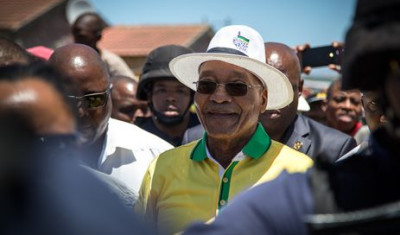 Zuma leads 20th anniversary of the Constitution in Sharpeville
