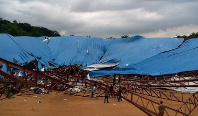 At least 10 killed by collapse of church in southern Nigeria-resident