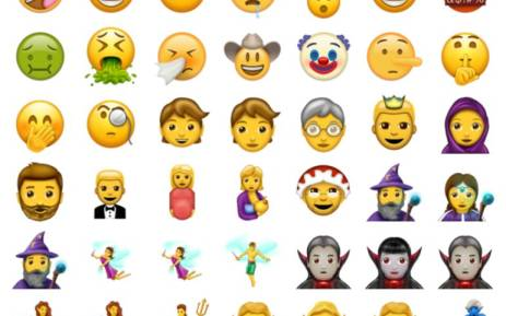 Apple embraces zombies and elves for new emojis in iOS 11