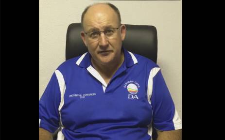 FILE: DA's mayoral candidate for the Nelson Mandela Bay Municipality Athol Trollip. Picture: @AtholT.