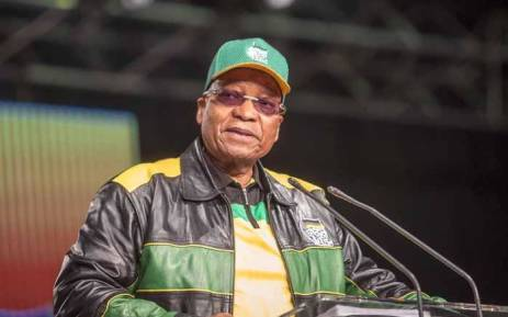 President Jacob Zuma addresses the ANC national policy conference at Nasrec on 30 June 2017. Picture: Thomas Holder/EWN