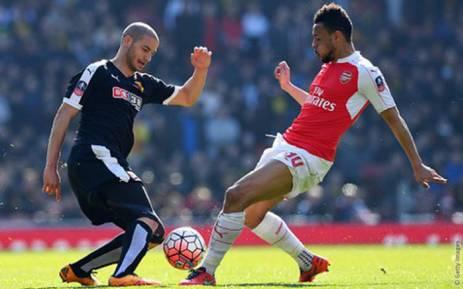 Arsenal vs Watford. Picture: @Arsenal.