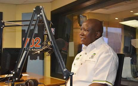 Former ANCYL Julius Malema. Picture: EWN