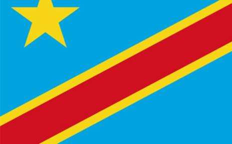 FILE: Democratic Republic of Congo (DRC) flag. Picture: Supplied.