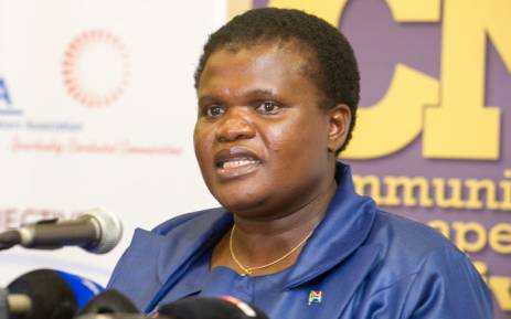 FILE: Minister of Communications Faith Muthambi on 28 July 2016. Picture: GCIS.