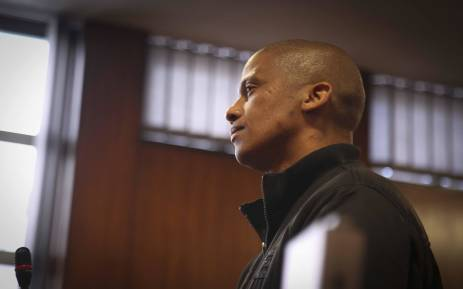 Murder accused Mortimer Saunders appears in the Goodwood magistrates court. Picture: Cindy Archillies/EWN