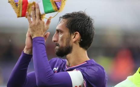 Fiorentina's Davide Astori. Picture: @acffiorentina/Twitter